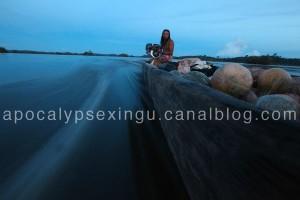 construction du barrage hydroélectrique de Belo Monte sur la rivière de Xingu