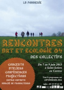 rencontres art et ecologie la pommerie-St Seliers