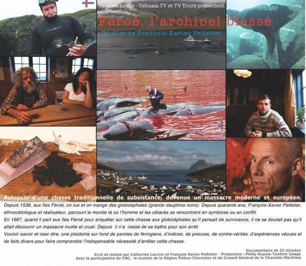 Féroé l'archipel blessé un film de Catherine Lacroix et François-Xavier Pelletier